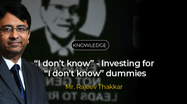 """I don't know"" - Investing for ""I don't know"" dummies"